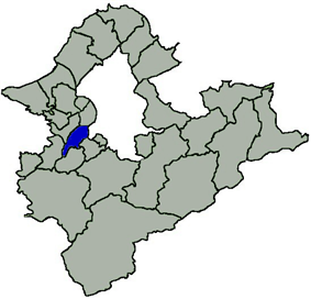 Banqiao District in New Taipei City