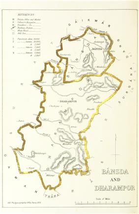 Location of Bansda