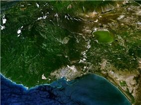 Google Earth image of Barahona.