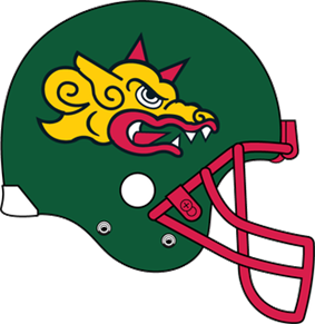 Barcelona Dragons helmet