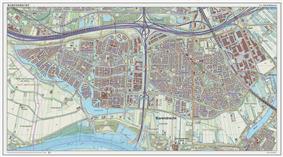 Topographic map of Barendrecht (town), Sept. 2014