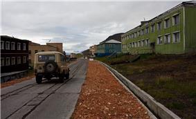 Barentsburg mainstreet.jpg