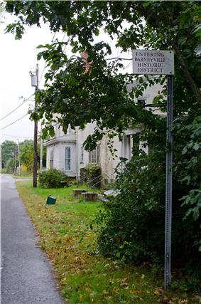 Barneyville Historic District