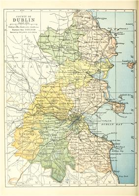 Map of the baronies in County Dublin