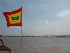 View of Barranquilla from the Magdalena River