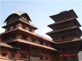 The Kathmandu Darbar Square