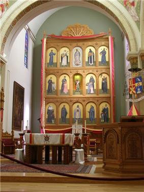 Basilica Screen Cathedral Basilica St Francis Santa Fe NewMexico PA300106.jpg