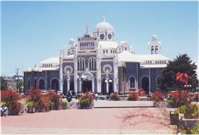 The Basílica de Nuestra Señora de los Ángeles