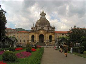 Sanctuary of Ignatius of Loyola, in Azpeitia