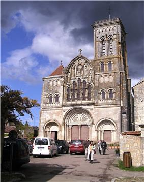 The Abbey Church in Vézelay