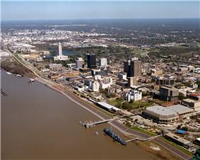Baton Rouge waterfront
