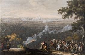 Battle of Lesnaya by Nicolas Larmessin