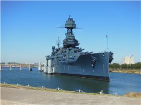 USS Texas at San Jacinto State Park, November 2014