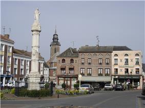 The Place de Charles de Gaulle