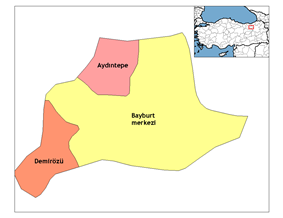 Districts of Bayburt