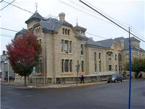 Thomas Beaver Free Library and Danville YMCA