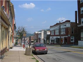 East Pitt Street in Bedford