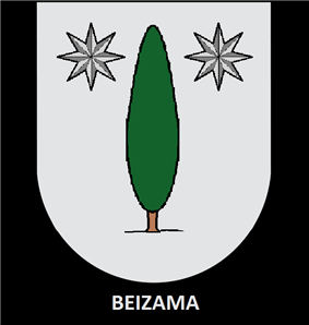 Coat of arms of }