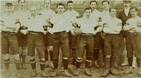 Football team in uniform