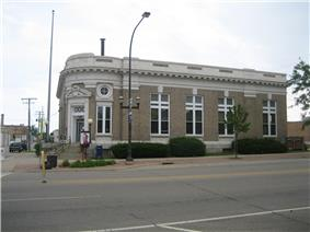 United States Post Office-Belvidere