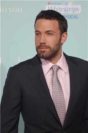 American actor and director Ben Affleck