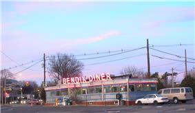 The Bendix Diner, a prominent landmark on