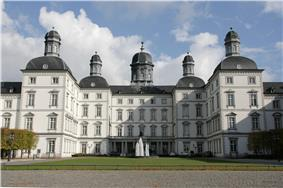 Forecourt of Schloss Bensberg