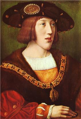 A young Charles V.