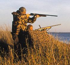 Waterfowl hunters