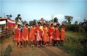 Bhil tribe girls in Jhabua