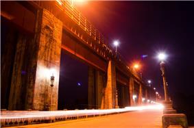 Bhooththankettu Dam - night view