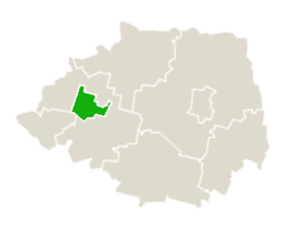 Location within Bielsk County
