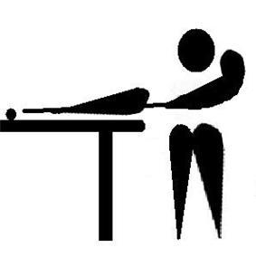 Billiard pictogram