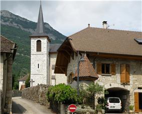 The church in Billième
