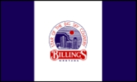 Flag of Billings, Montana