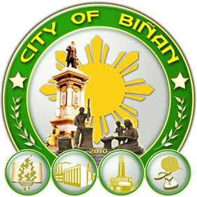 Official seal of Biñan
