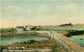 Birch Point and Burnt Island Thoroughfare c. 1908