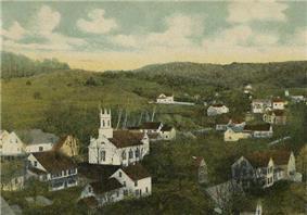 Bird's-eye view in 1908