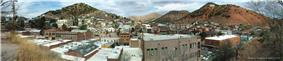 Panorama of Bisbee in 2009