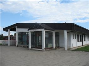 Bus station in Blace