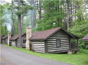 Black Moshannon State Park Family Cabin District