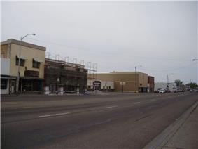 Business District of Blackfoot