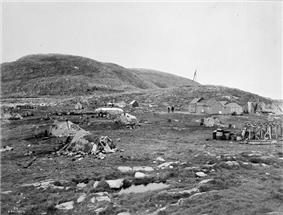Blacklead Island Whaling Station in 1903
