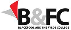 B&FC Blackpool and The Fylde College Logo