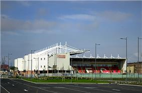 Blackpool's stadium, Bloomfield Road