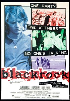 Theatrical poster for Blackrock