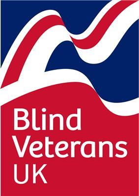 Blind Veterans UK logo.