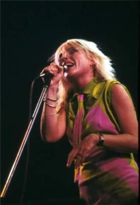 Blondie head singer, Deborah Harry