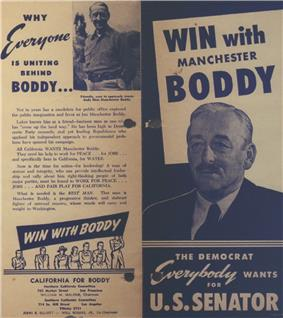 A flyer or handout for Manchester Boddy.