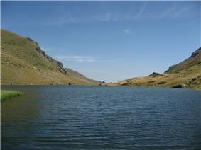 Bogovinje Lake overview